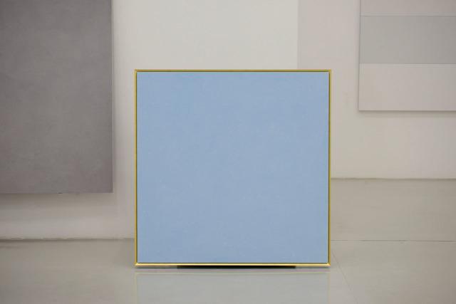 , 'Il colore e l'oro, azzurro tenue,' 2016, Lia Rumma