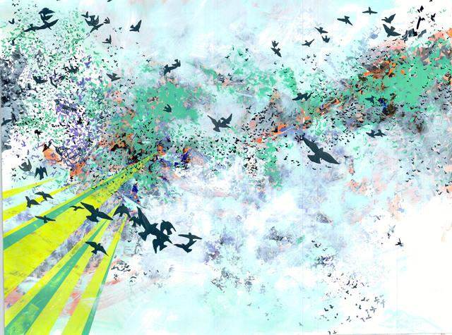 , 'Synchronized Formation,' 2012, BoxHeart