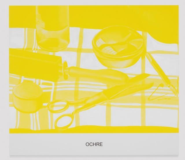 , 'The Yellow Series: Ochre,' 2016, Galerie Greta Meert