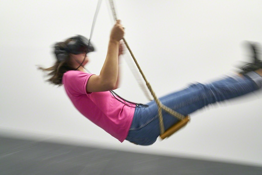 "Christin Marczinzik & Thi Binh Minh Nguyen, ""Swing"", 2015, VR-application"