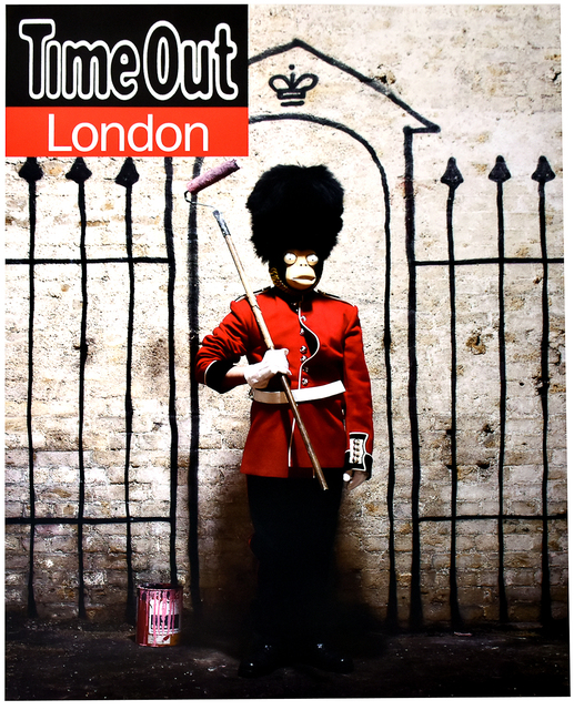 Banksy, 'TIME OUT LONDON', 2010, Silverback Gallery