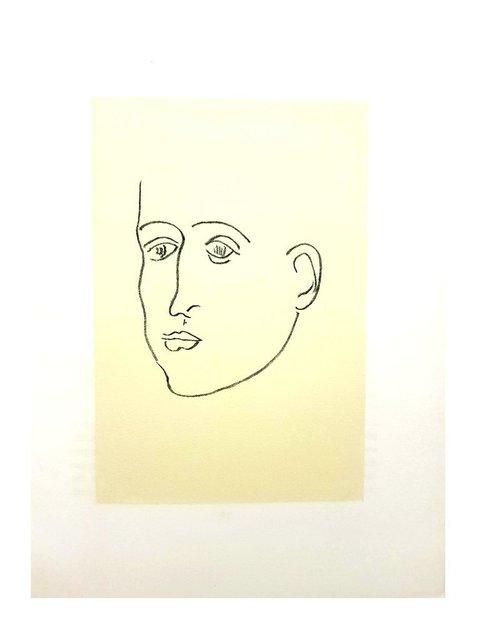 "Henri Matisse, 'Original Lithograph ""Apollinaire"" by Henri Matisse', 1952, Galerie Philia"
