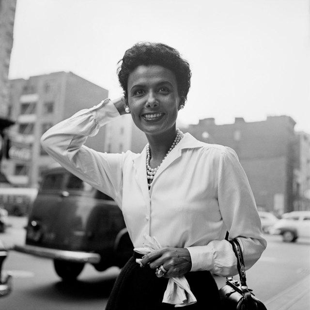 , 'Lena Horne, New York,' September 30-1954, Les Douches La Galerie