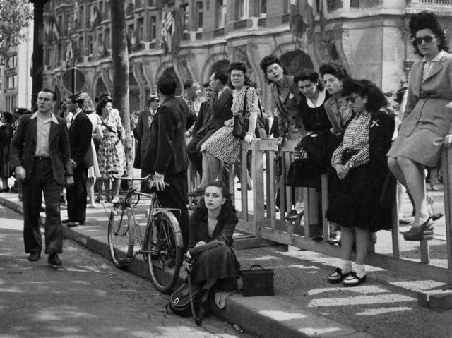 , 'Après le libération, Florette, Champs Elysée, Paris,' 1944, Michael Hoppen Gallery