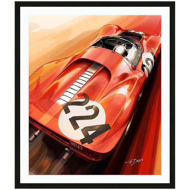 Frederic Dams, 'Ferrari 330 P4 | Automotive | Car', ca. 2017, Whyte Fine Art