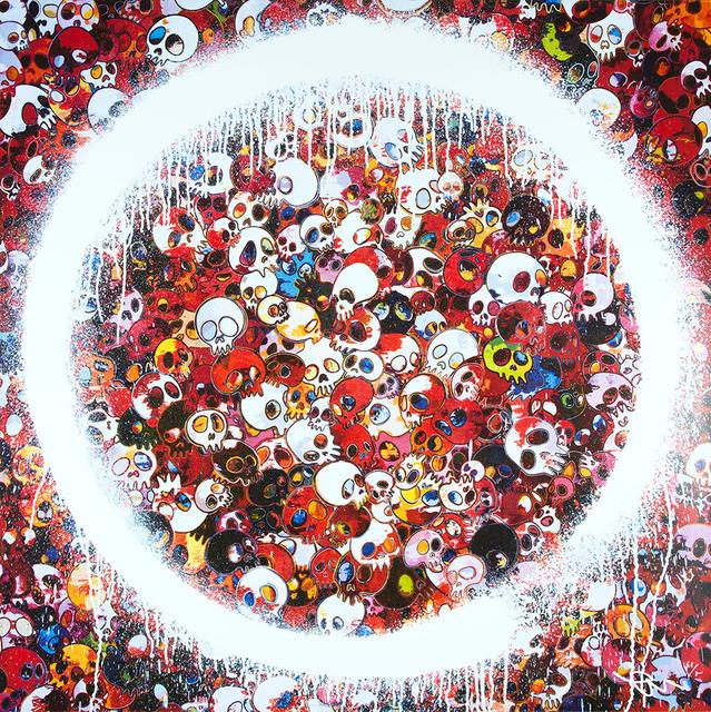 Takashi Murakami, 'Enso: Memento Mori Red', 2015, Lougher Contemporary