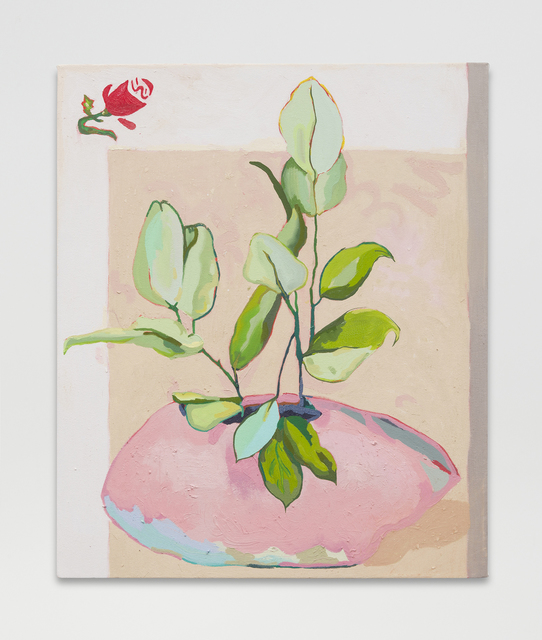 , 'Flower Pot,' 2016, MARTOS GALLERY