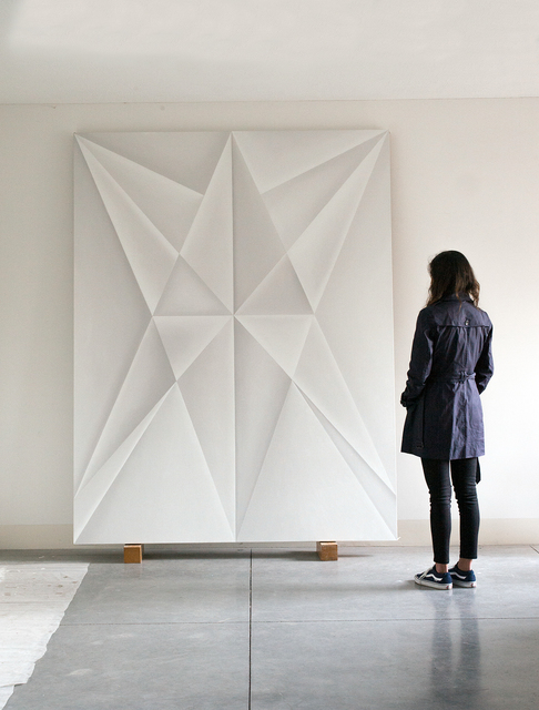 , 'Unfolded Painting,' 2016, Travesia Cuatro