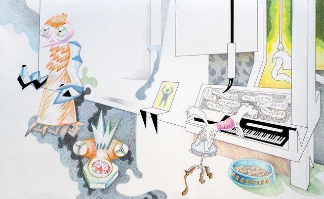 , 'ACTIVACIÓN DE LAS MEMBRANAS MÁGICO POLÍTICAS - SILLA NUEVA PARA TAREAS TRADICIONALES. (Activation of Magical-Political Membranes),' 2016, Nora Fisch
