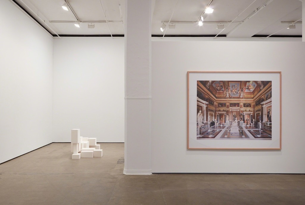 Installation view of EDIFICE, COMPLEX, VISIONARY, STRUCTURE. at Sean Kelly, New York