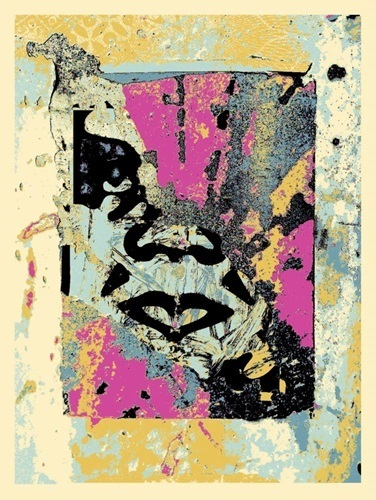 Shepard Fairey, 'Enhanced Disintegration', 2019, Print, Fine Art Paper, New Union Gallery