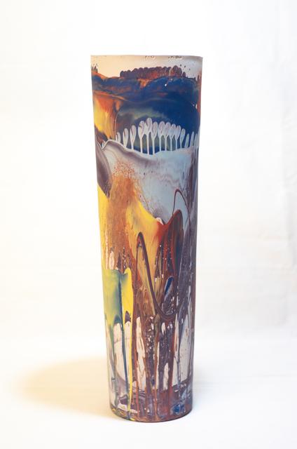 , 'XXL Slant Vase,' 2018, THROWN