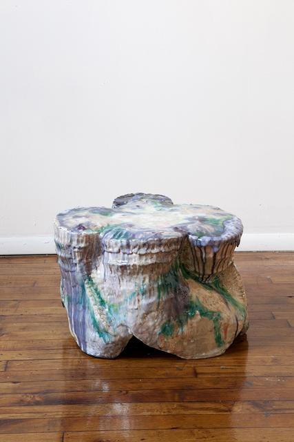 YehRim Lee, 'Money Chair II', 2019, Sculpture, Stoneware, cone 6 glaze, cone 04 glaze, resin, InLiquid