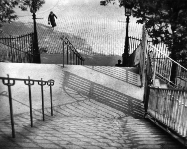 , 'The Stairs of Montmartre, Paris,' 1926, Bruce Silverstein Gallery
