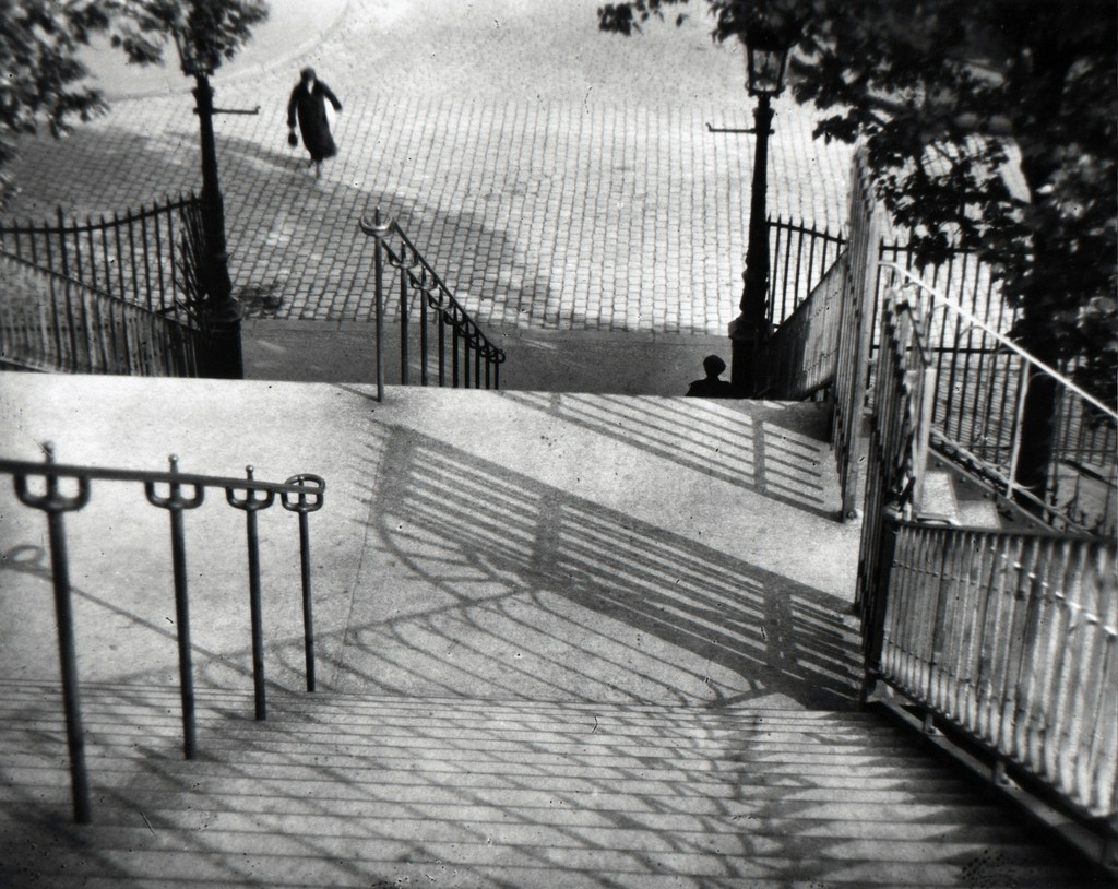 André Kertész, 'The Stairs of Montmartre, Paris,' 1926, Bruce Silverstein Gallery