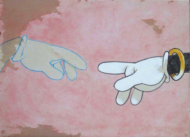 , 'Mickeyangelo,' 2008, Modern West Fine Art