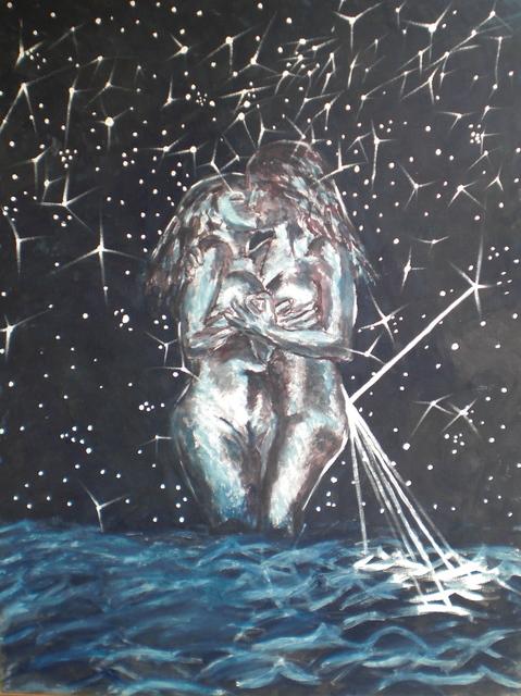, 'Frauen bei Nacht,' 1981, Galerie Karl Pfefferle