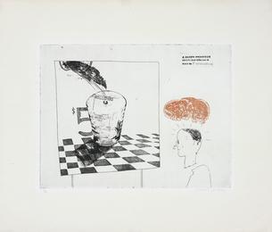 David Hockney, 'Disintegration, pl. 7 from A Rake's Progress,' 1961-1963, Phillips: Evening and Day Editions
