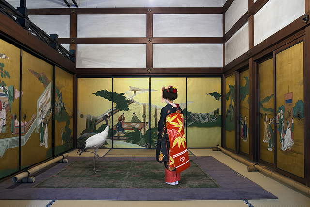 , 'Akirame Shunko - in Temple , Kyoto,' 2015, Galerie Les filles du calvaire