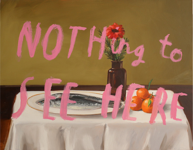 , 'Nothing To See Here Part 3,' 2014, Lazinc