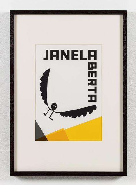 , 'O nome do medo (recorte): Janela aberta / The Name of Fear (cut-out): Open Window,' 2017, Stephen Friedman Gallery