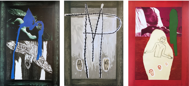 Mimmo Paladino, 'Series of 3 Prints (set)', 1990, Christian Cheneau Gallery