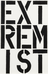 Christopher Wool, 'Extremist,' 1989, Forum Auctions: Editions and Works on Paper (March 2017)