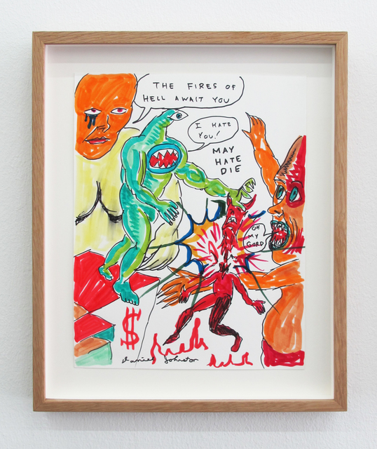 , 'The Fires Of Hell Await You ,' 2009, V1 Gallery