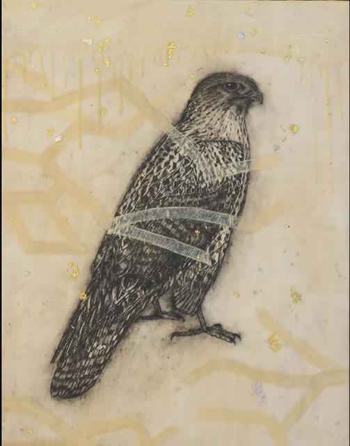 , 'Hawk,' 2014, Sylvia White Gallery