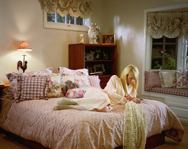 Larry Sultan, 'Paris on my Parents' Bed', 2007, Shulamit Nazarian