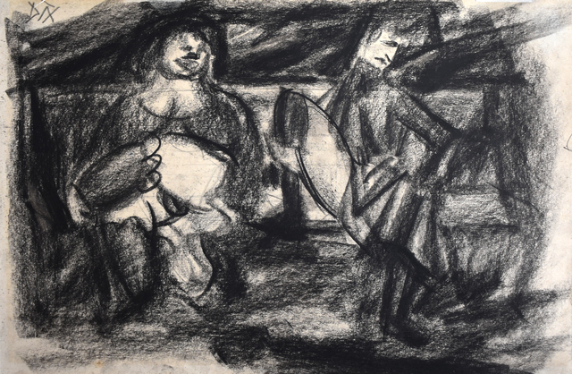 , 'At the Zoological Garden | Im Zoologischen Garten,' 1914, Gilden's Art Gallery