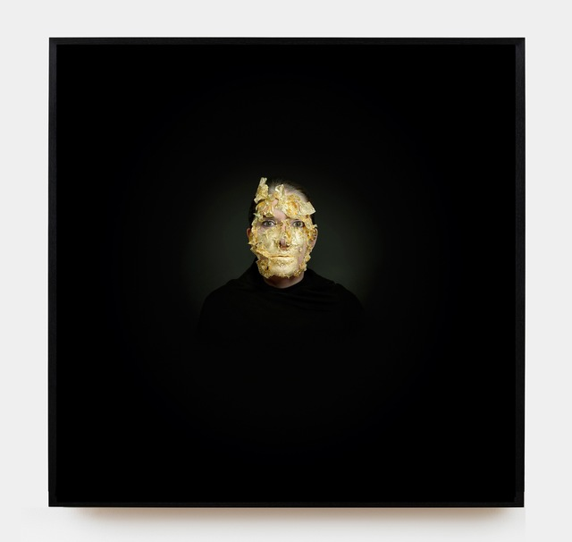 , 'Golden Mask,' 2009, Sean Kelly Gallery