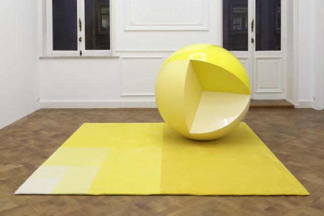 Carsten Höller, 'Divisions (Sphere and Carpet)', 2014, GALLERIA CONTINUA