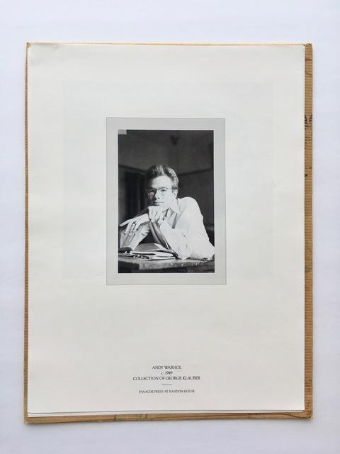 Andy Warhol, 'Panache Press promo portfolio for Pre-Pop Warhol', 2002, Gallery 52