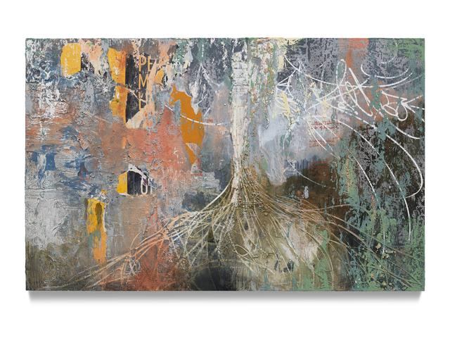 José Parlá, 'Without Roots the Tree Won't Grow', 2019, Ben Brown Fine Arts