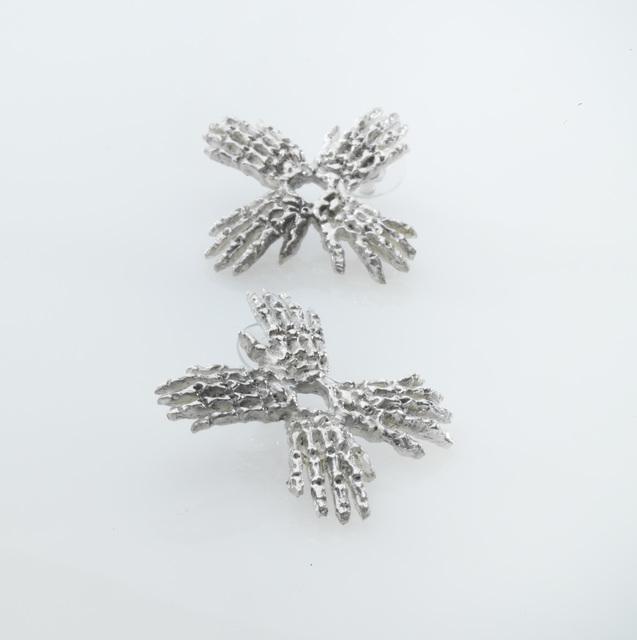 , 'Circle Hands Earrings ,' 2014, Pangolin