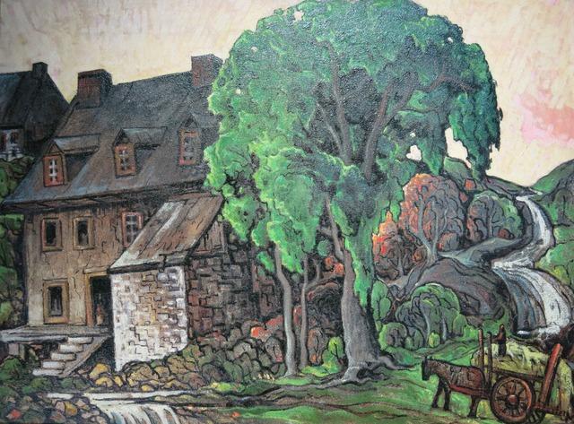 , 'Moulin à l'Île d'Orléans ,' ca. 1941, Galerie Claude Lafitte