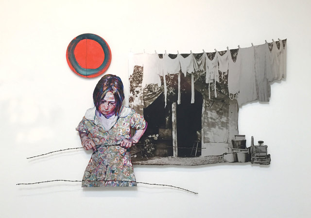 , 'Clothesline,' 2020, Rena Bransten Gallery