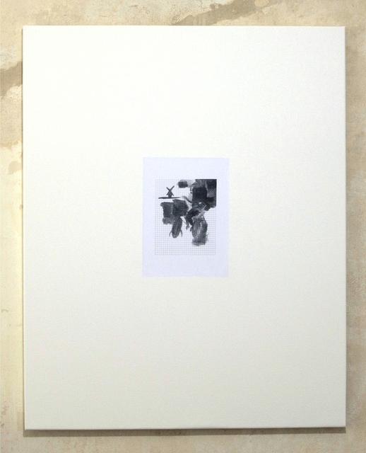 , 'Untitled (Mondriaan auf dem Fahrrad malen #3),' 2012, Clages