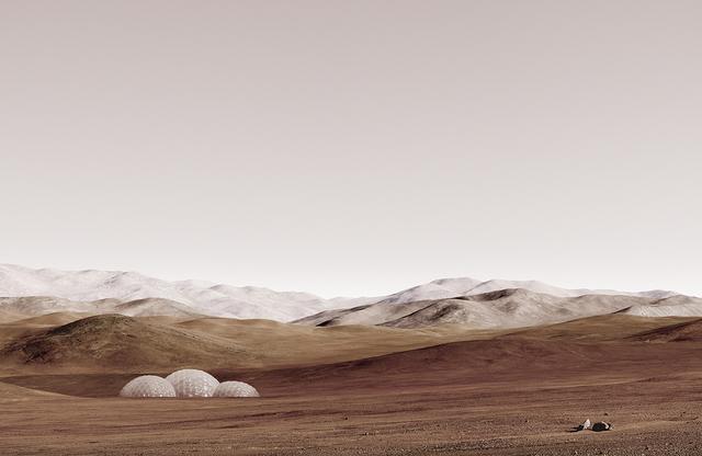 , 'sands of mars,' 2014, Studio la Città