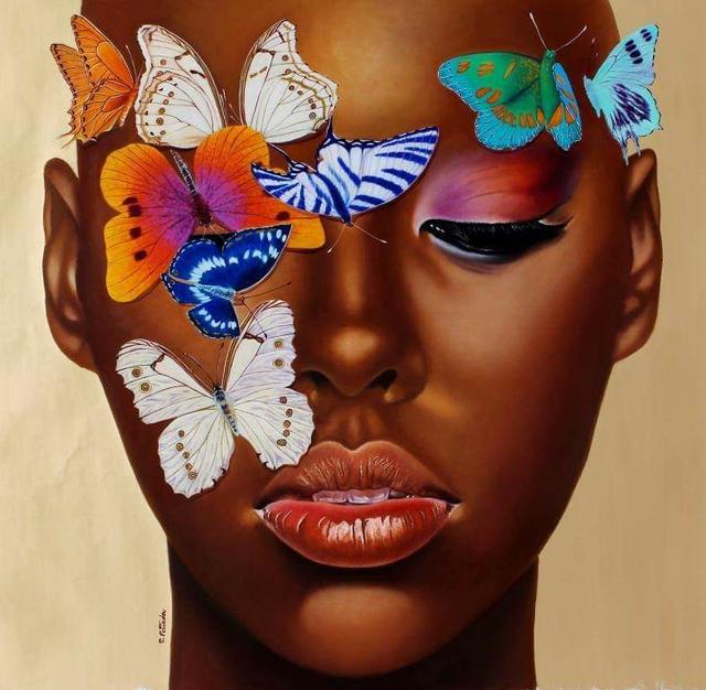 , 'Butterflies & Brown Skin,' 2018, design art concepts