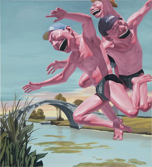 Yue Minjun, 'Hometown', 2005, Phillips
