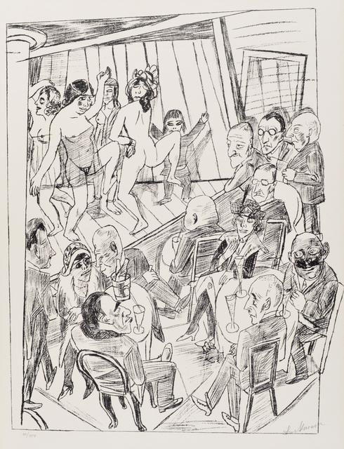 , 'Striptease,' 1922, Galerie St. Etienne