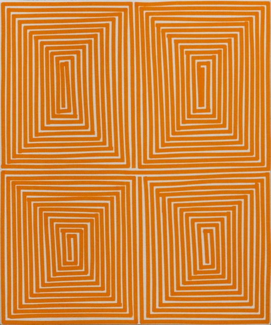 , 'Orange Coffer (Geo),' 2014, Newzones