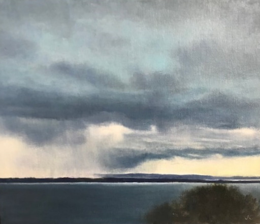 , 'Distant Rain,' 2018, Margaret River Art Gallery