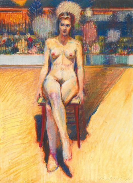 , 'Nude and Tapestry,' 1981, Allan Stone Projects