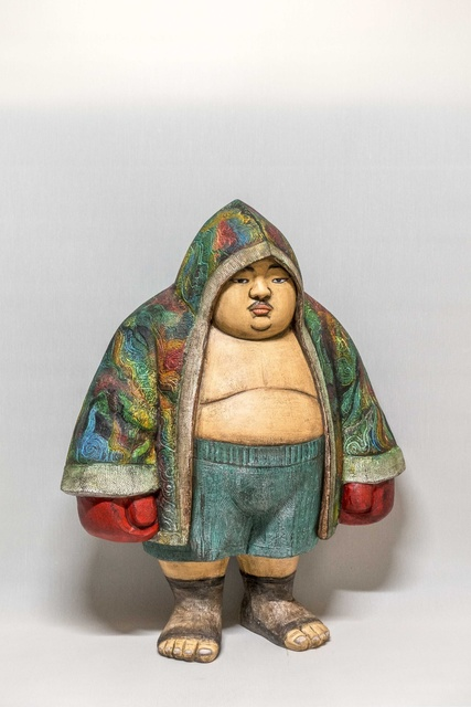 , 'Boxer Wrobe,' 2017, Nil Gallery
