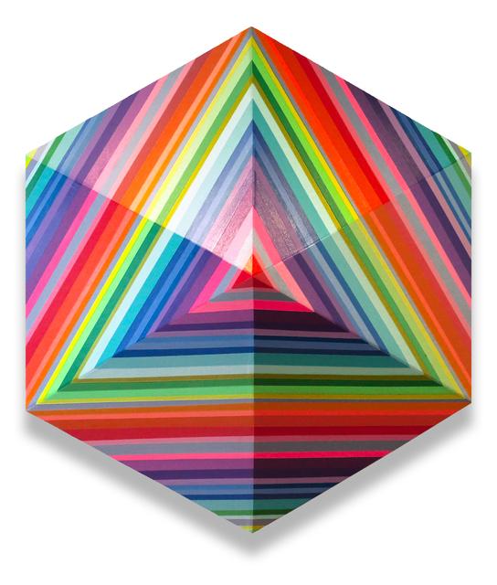 , 'Radiating Rainbow,' 2018, Newzones