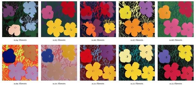 , 'Flowers portfolio,' 1970-2019, OSME Fine Art