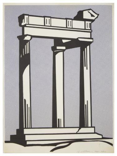 Roy Lichtenstein, 'Temple', 1964, DANE FINE ART